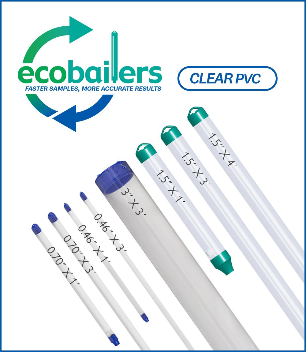 Ground Water Sampling Bailer- Clear PVC